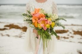 alternative beach wedding photography
